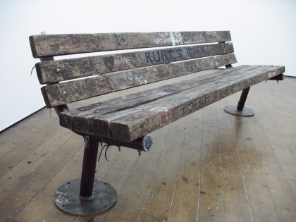 kurt cobain bench